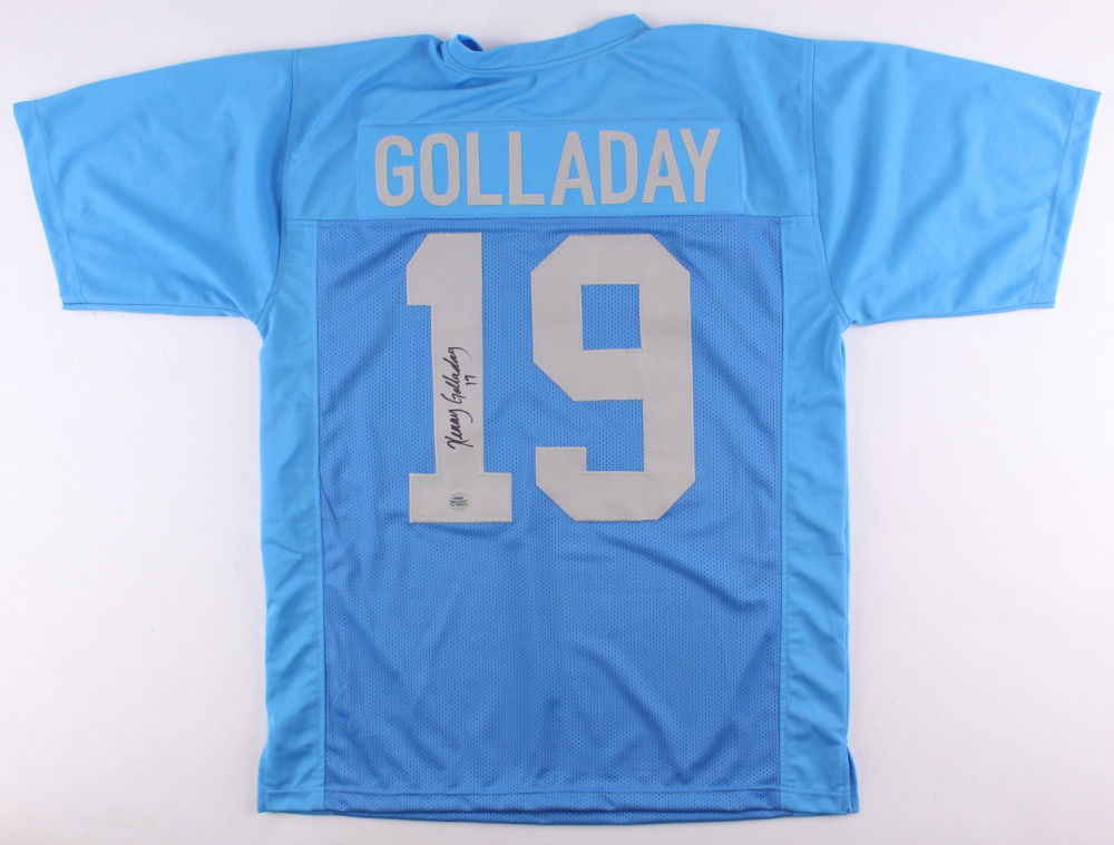 the latest ccaca 1a797 Kenny Golladay Signed Lions Jersey (Player Hologram) 2017 3rd Rd.Draft Pick  W.R.