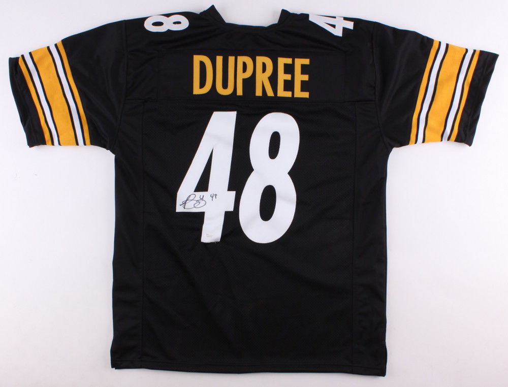 Bud Dupree Signed Steelers Jersey (JSA Hologram) Pittsburgh Outside Linebacker