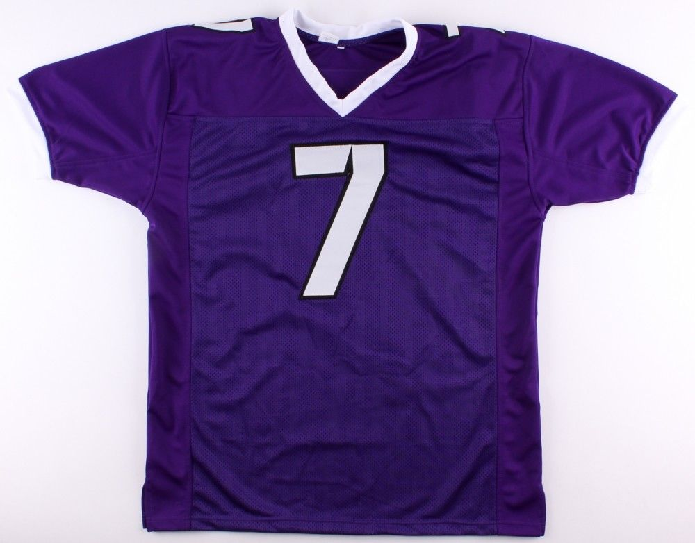 Kenny Hill Signed TCU Horned Frogs Jersey (JSA) 2012 H.S. Texas Player of Year