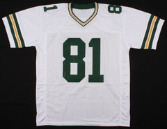 Geronimo Allison Signed Green Bay Packers Jersey (Beckett COA)  Wide Receiver