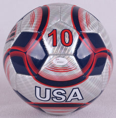 Hope Solo Signed Team USA Soccer Ball (JSA COA)