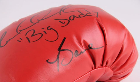 "Riddick ""Big Daddy"" Bowe Signed Everlast Boxing Glove (Bowe Hologram)"
