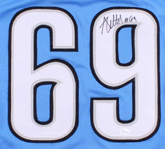 Anthony Zettel Signed Lions Jersey (JSA COA) Star Defensive End
