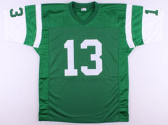 "Don Maynard Signed Jets Jersey Inscribed ""HOF 87"" (JSA COA) 1969 Super Bowl Jets"