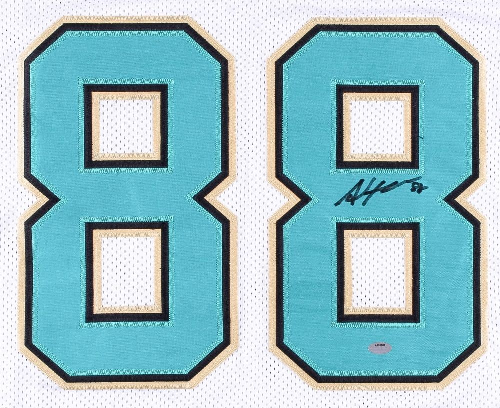 Allen Hurns Signed Jaguars Jersey (Schwartz)  Jacksonville All Pro Wide Receiver