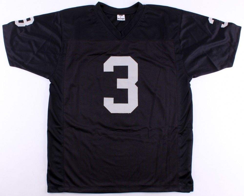 "Daryle Lamonica Signed Raiders Jersey (JSA) ""The Mad Bomber"" 2x AFL MVP 67 & 69"