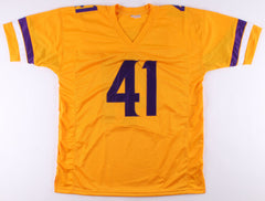 Anthony Harris Signed Minnesota Vikings Throwback Jersey (TSE COA)Defensive Back