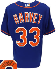 Matt Harvey Signed Mets Authentic Majestic Jersey (JSA COA & MLB) NY Mets Ace
