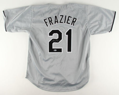 Todd Frazier Signed Chicago White Sox Jersey (Beckett) 2× All-Star (2014, 2015)