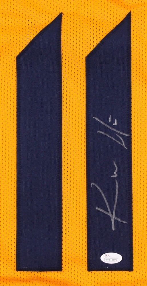 ... Kevin White Signed West Virginia Mountaineers Jersey (JSA) Bears Wide  Receiver ... 573cc5122