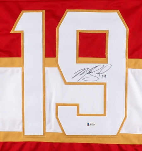 Mike Matheson Signed Panthers Jersey (Beckett) 23rd Overall Pick 2012 NHL Draft