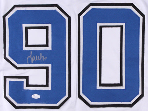 Vladislav Namestnikov Signed Lightning White Jersey (JSA COA) Tampa Bay Center