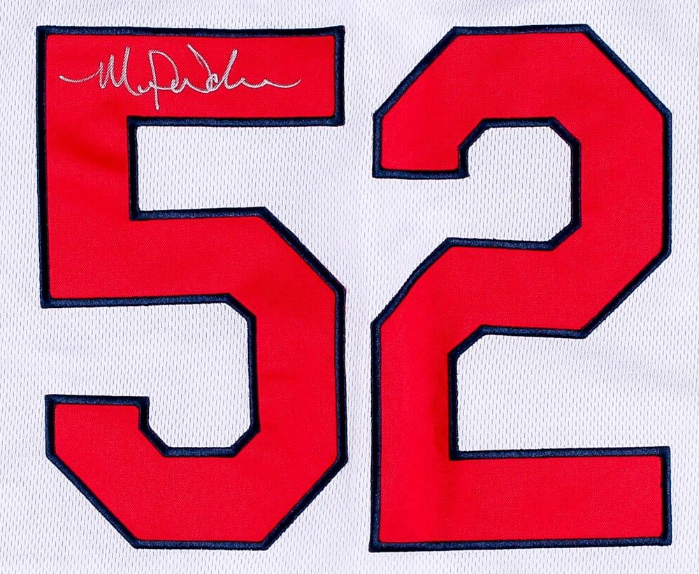 Michael Wacha Signed Cardinals Jersey (ICON COA)