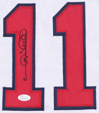 Gary Sheffield Signed Atlanta Braves Jersey (JSA)500 Home Run Club & 9x All Star