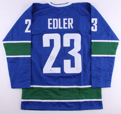 Alexander Edler Signed Canucks Jersey (Beckett COA) Playing career 2003–present