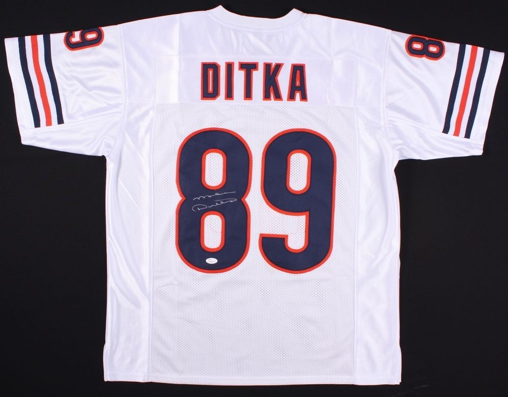 size 40 126fe 5848a Mike Ditka Signed Chicago Bears White Home Jersey (JSA COA)