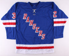 Stephane Matteau Signed Rangers Jersey (FCA) 1994 New York Stanley Cup Champion
