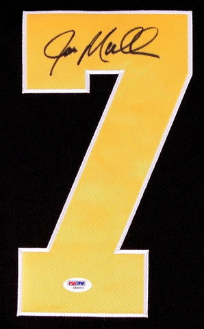 Joe Mullen Signed Pittsburgh Penguins Jersey (PSA COA)