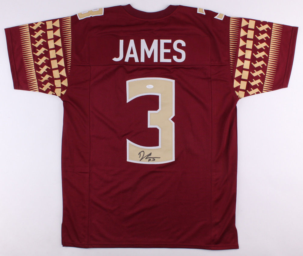 brand new 7bd9c f5456 Derwin James Signed Florida State Seminoles Jersey (JSA) 5 Star Recruit  Safety
