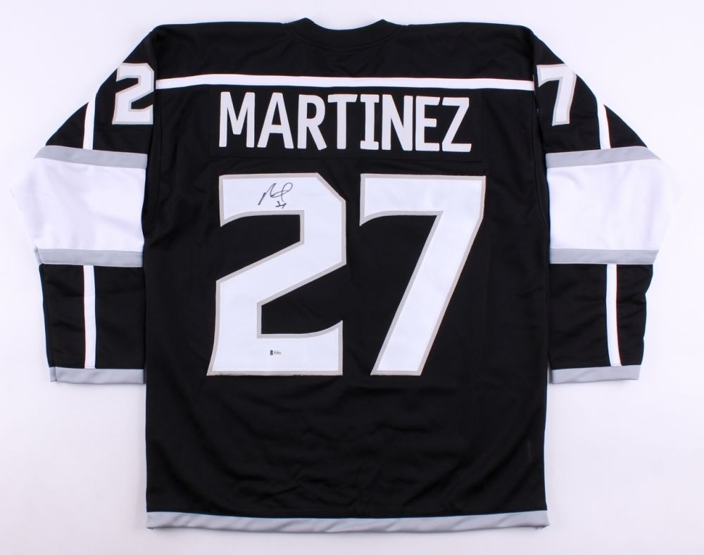 on sale acd44 96c83 Alec Martinez Signed Kings Jersey (JSA) Playing career 2008–present