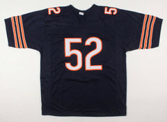 Khalil Mack Signed Chicago Bears Jersey (Beckett COA) 4xPro Bowl Defensive End