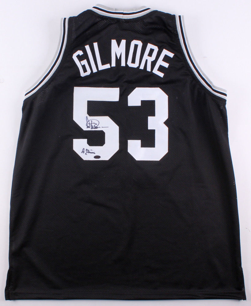 pretty nice 4a522 db117 Artis Gilmore Signed San Antonio Spurs Jersey With Inscription (Leaf COA)