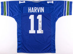"Percy Harvin Signed Seahawks Jersey Inscribed ""12th Man"" (GTSM) Florida Gator"