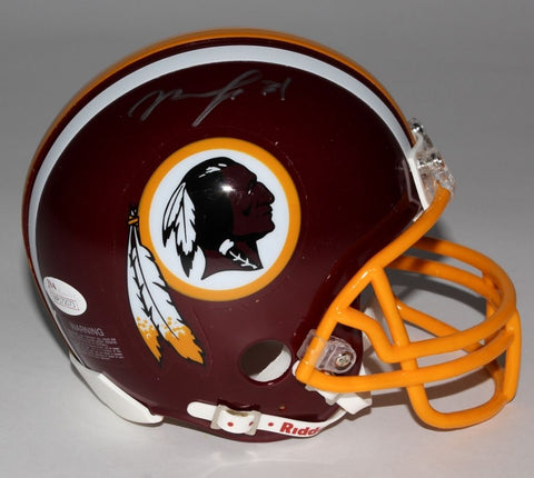 Matt Jones Signed Redskins Mini-Helmet (JSA COA) Ex Florida Gator