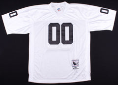 "Jim Otto Signed Raiders Football Jersey Inscribed ""HOF 1980""(PSA COA)"