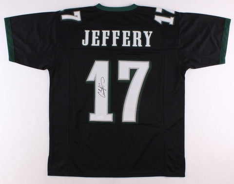 Alshon Jeffery Signed Eagles Pro-Style Jersey (JSA COA)