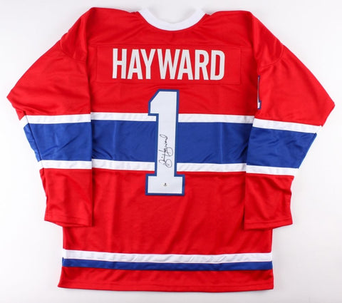 Brian Hayward Signed Canadiens Jersey (Beckett ) Playing career 1982–1993 Goalie