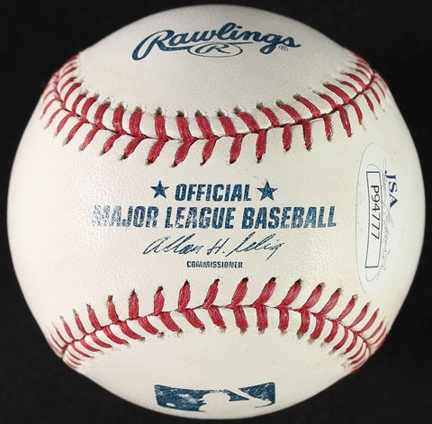 Brooks Robinson Signed OML Baseball (JSA COA) 2848 hits. Hall of Famer