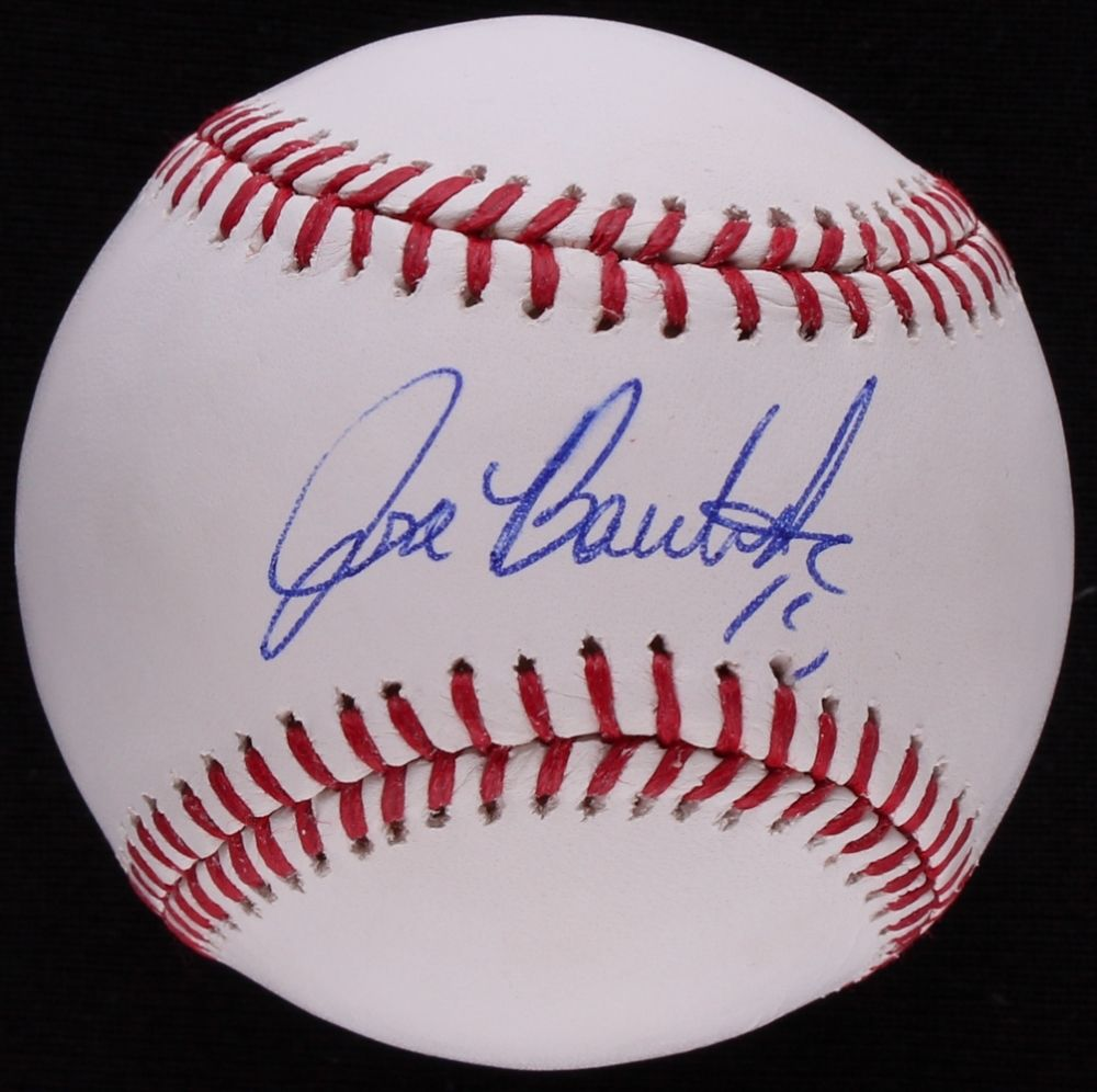 "Jose Bautista Signed OML Baseball (JSA COA) 6× All-Star (2010–2015) ""Joey Bats"""