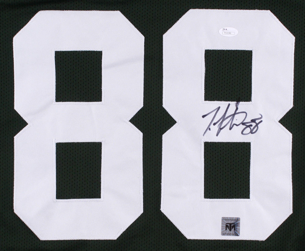 Ty Montgomery Signed Packers Jersey (JSA COA & Montgomery Hologram)