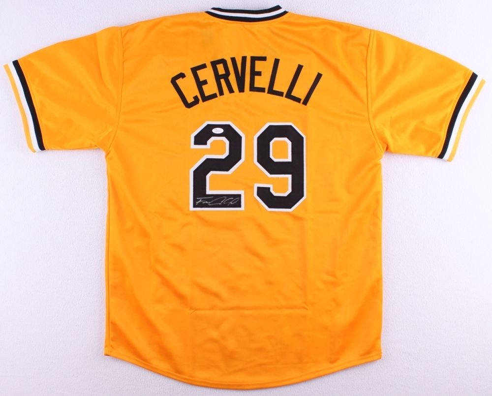 Francisco Cervelli Signed Pittsburgh Pirates Jersey (JSA Hologram)