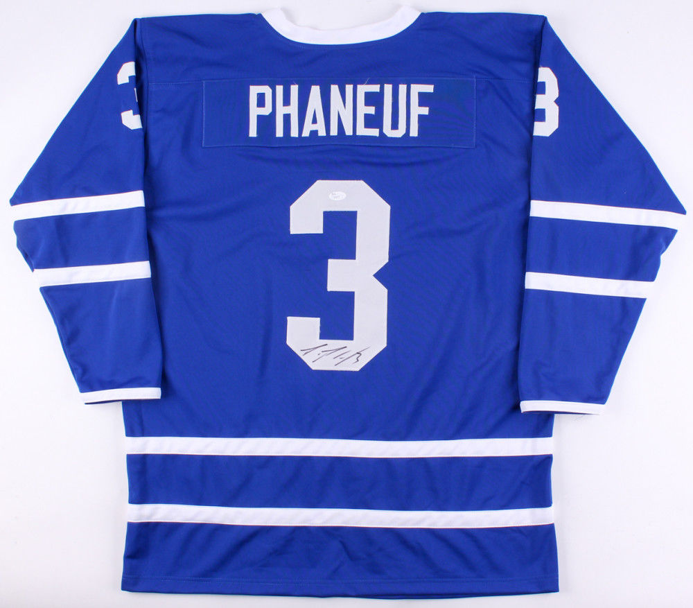 outlet store 94ac1 b28d6 Dion Phaneuf Signed Toronto Maple Leafs Jersey (JSA Hologram)