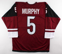 Connor Murphy Signed Coyotes Jersey (Beckett) 20th Overall pick 2011 NHL Draft