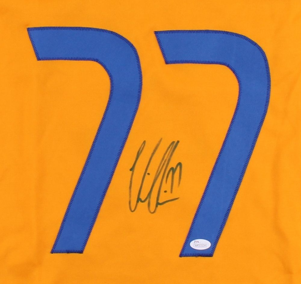Victor Hedman Signed Team Sweden Jersey (JSA) Tampa Bay Lightning Defenseman