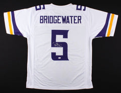 Teddy Bridgewater Signed Vikings Jersey (JSA) NFL Rookie of the Year (2014)