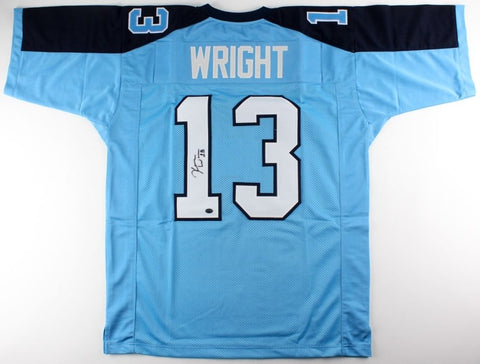 Kendall Wright Signed Titans Jersey (JSA) Chicago Bears Wide Reciever 2017