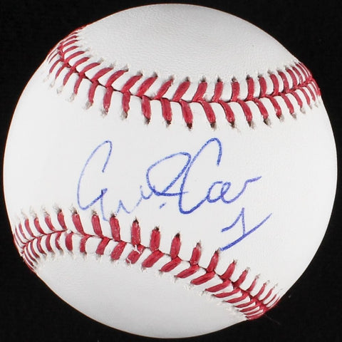 Carlos Correa Astros Signed OML Baseball (JSA COA) AL Rookie of the Year (2015)