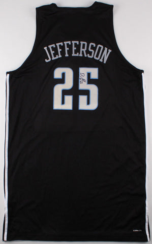 Al Jefferson Signed Charlotte Hornets Practice Jersey (Best Authentics Holo)