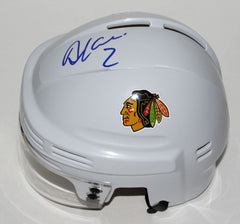 Duncan Keith Signed Blackhawks Mini Helmet (JSA COA) NHL's Top Defenseman