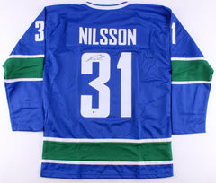 Anders Nilsson Signed Canucks Jersey (Beckett COA) Playing career 2009–present