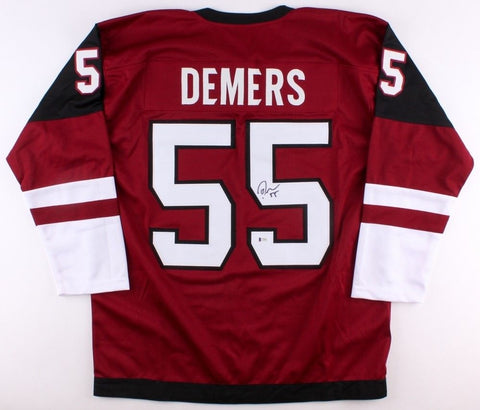 Jason Demers Signed Coyotes Jersey (Beckett) Playing career 2008–present