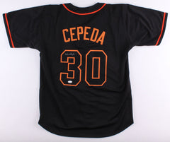 Orlando Cepeda Signed Giants Jersey (JSA) 1967 N.L. MVP / 1958 NL Rookie of Year