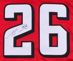Tevin Coleman Signed Falcons Jersey (TSE COA) Atlanta Falcons Running Back