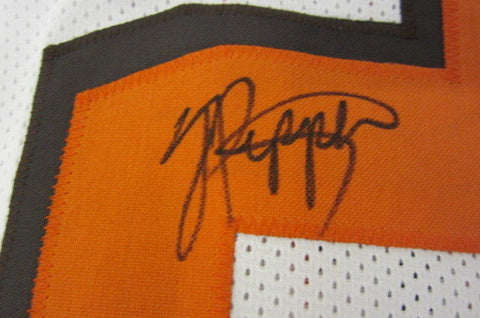 Jabrill Peppers Signed Browns Jersey (JSA) Cleveland 1st round pick Draft #27