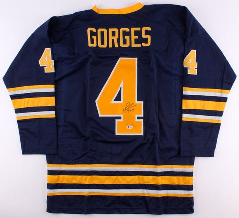 Josh Gorges Signed Sabres Jersey (Beckett COA) Playing career 2005–present
