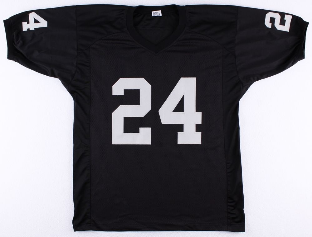 "Willie Brown Signed Oakland Raiders Jersey Inscribed ""HOF 84"" (JSA COA)"